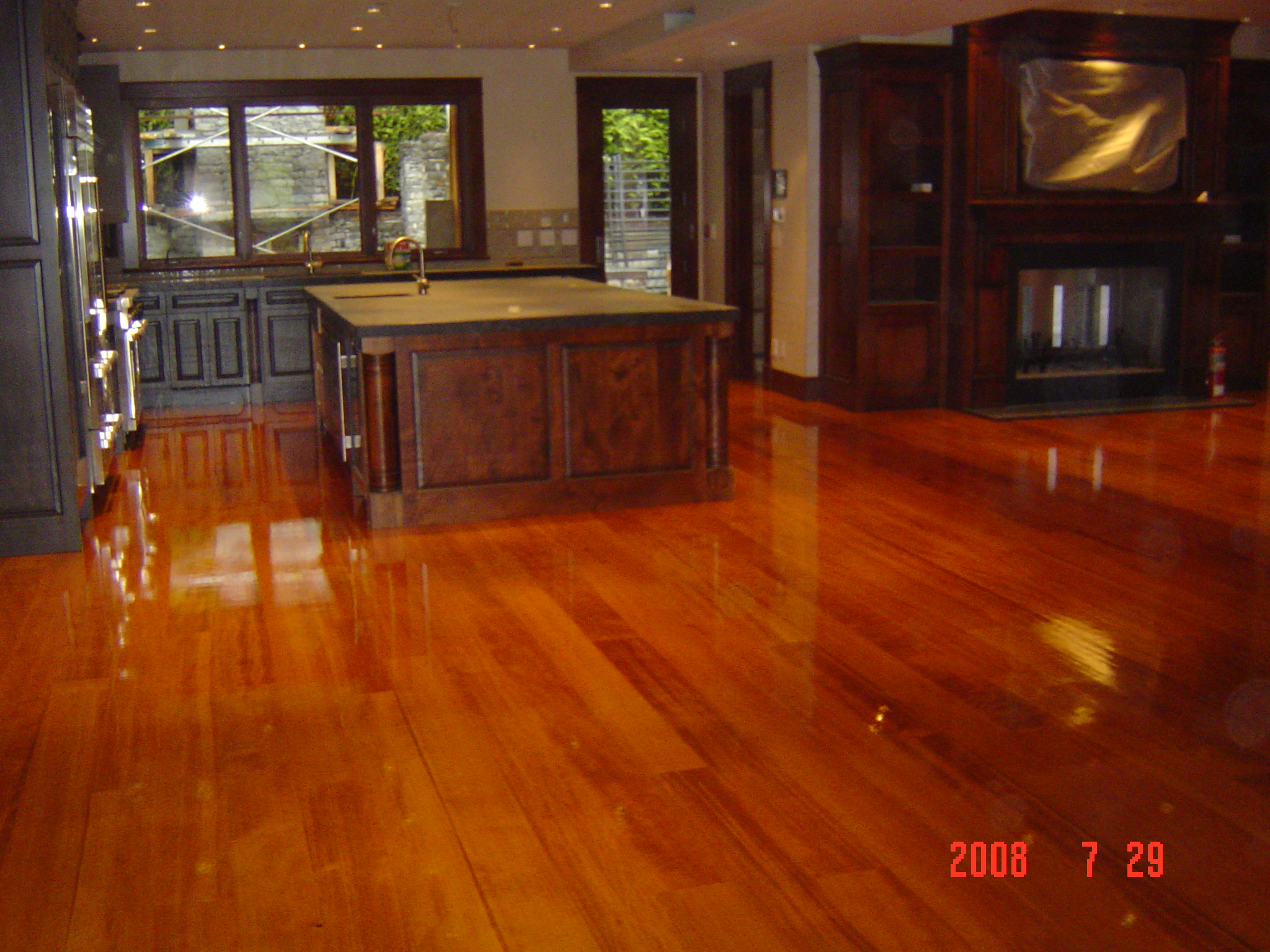 Reclaimed Fir Hardwood Floors