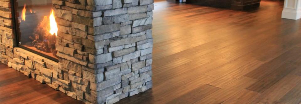 Hand Scraped Oak Hardwood Floors